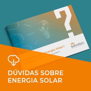 Ebook: Dúvidas sobre Energia Solar? Especialistas Solarion respondem