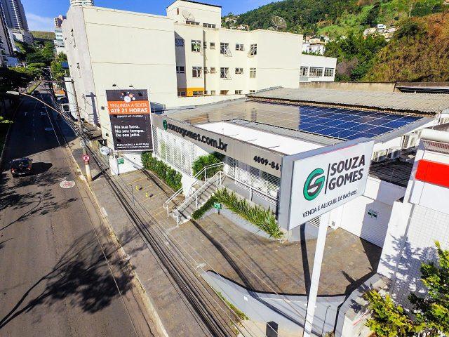 Energia solar para empresas: caso Souza Gomes Em Juiz de Fora